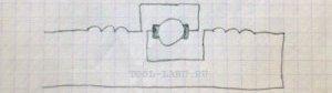 Схема реверса дрели